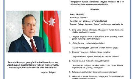Heydər Əliyevin 98-ci il dönümünə həsr olunmuş anım tədbiri